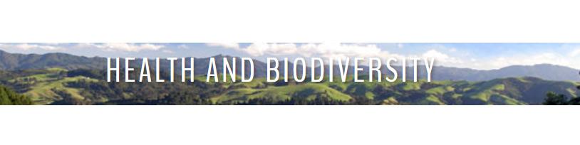 Health and Biodiversity