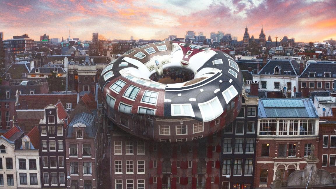 """Doughnut"" city model – new way and perception of economics"